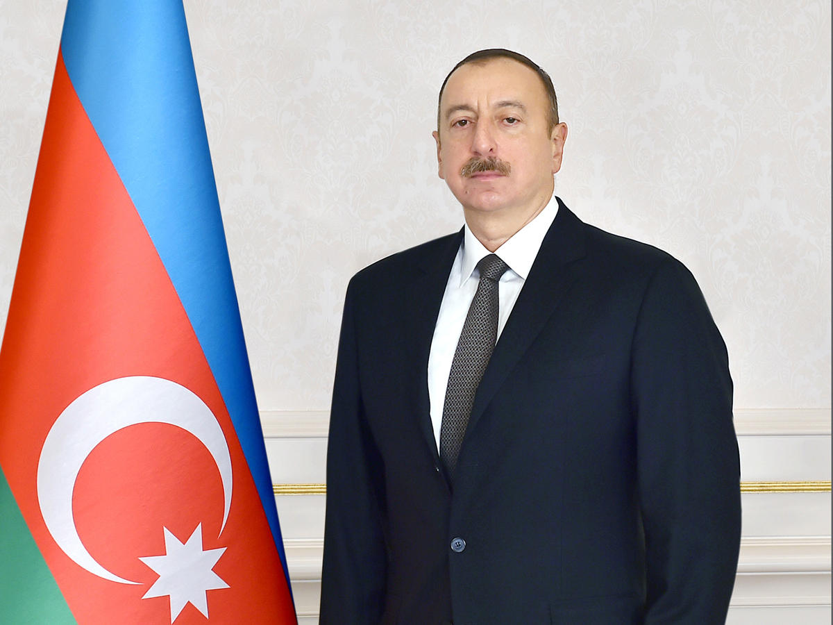 Ilham Aliyev congratulated the people of Azerbaijan