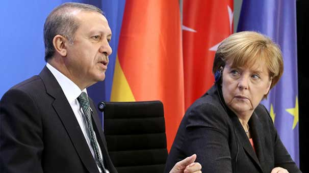 An important meeting between Erdogan and Merkel