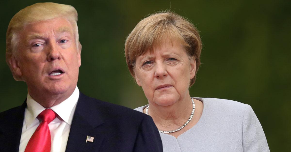 """Меркель и Трамп обсудят """"поведение России"""""""