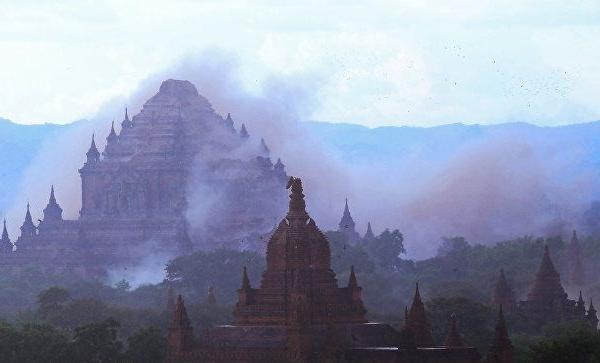 میانمادا دهشتلی پارتلاییش: ۱۶ اؤلو، ۴۸ یارالی