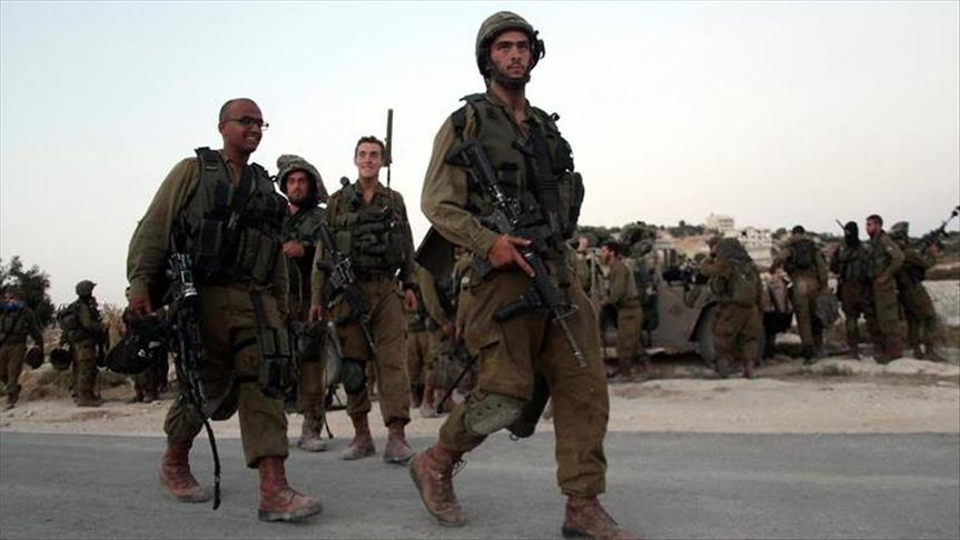 Israel deploys a large number of forces in West Bank