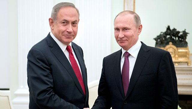 Netanyahu discusses situation at Israel's northern border with Putin