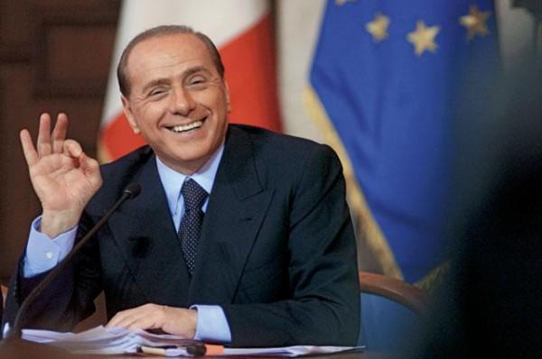 Берлускони поздравил Путина