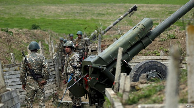 Armenian Armed forces fired at villages of Gazakh region