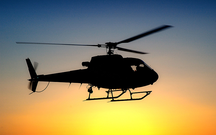 У берегов Австралии упал вертолет