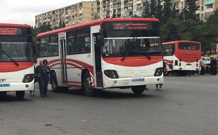 Paytaxtda avtobus sürücüsü xuliqanlığa görə həbs edildi