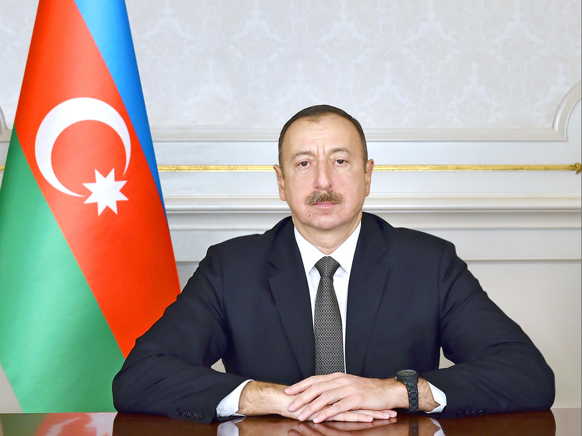 Congratulations from Ilham Aliyev on May 28...