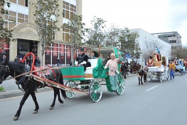 باکیدا نووروز فستیوالی کئچیریلهجک
