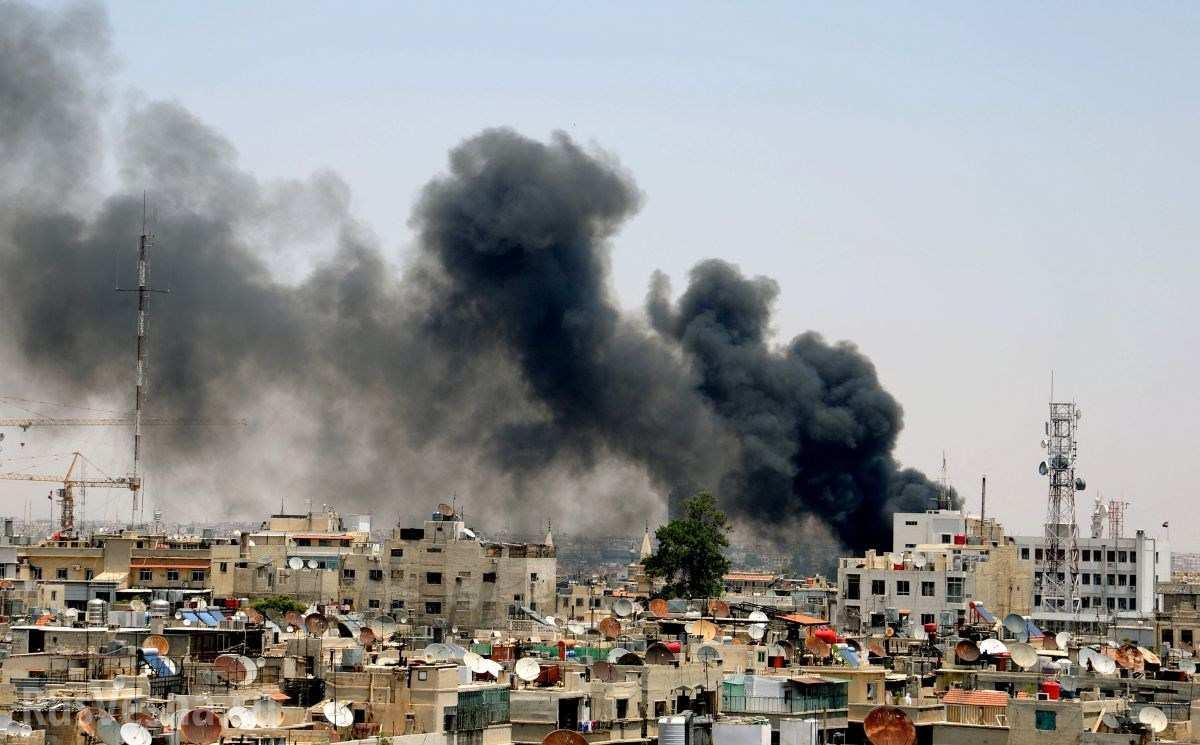 В Дамаске произошел второй за сутки взрыв