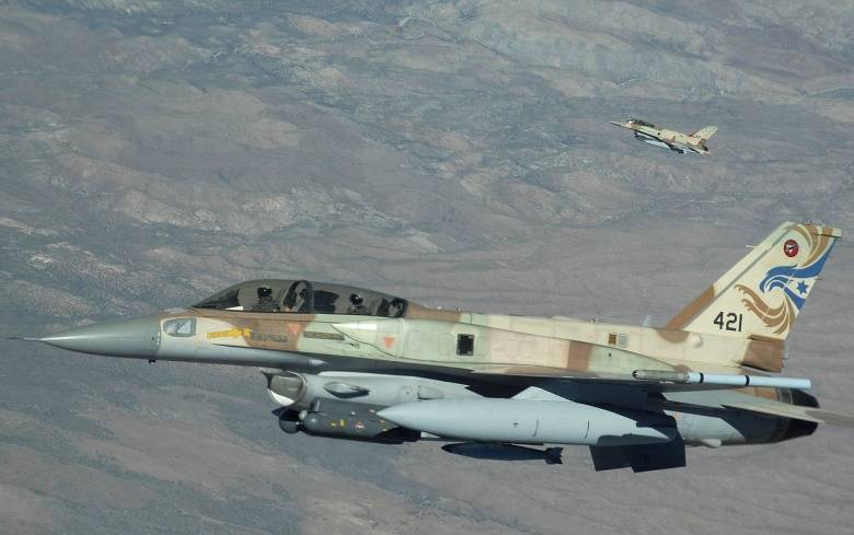 Israeli fighters struck Hamas positions