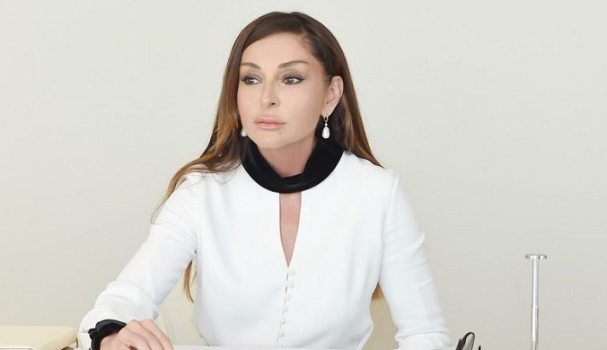 Mehriban Aliyeva made a great sharing from the sky -