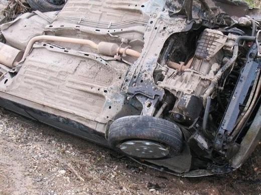 Lerikdə avtomobil dağdan aşdı: 3 ölü, 2 yaralı