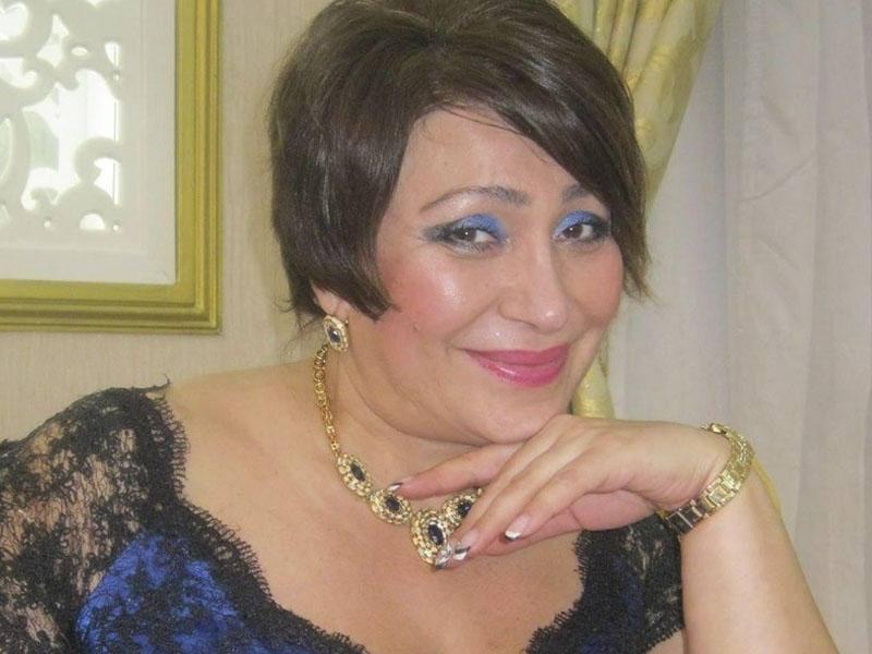 Azərbaycanlı aktrisa qocalar evində - Foto