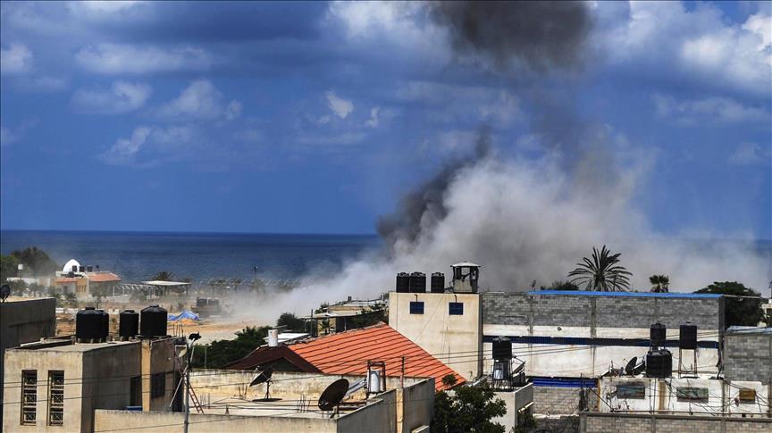 Из Газы выпустили ракету по Израилю