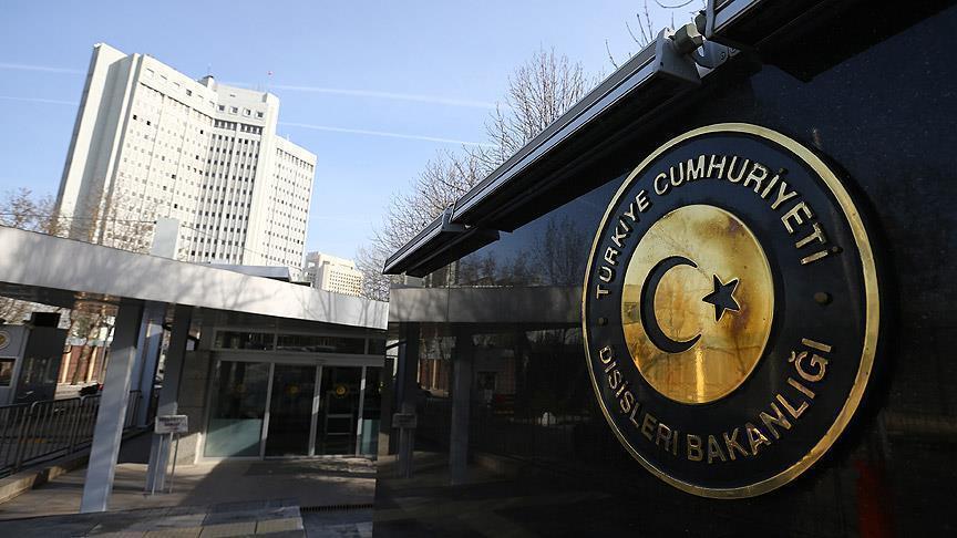 В МИД Турции вызвали временного поверенного России