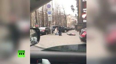 Sabiq deputatı öldürən xəstəxanada keçindi - Video