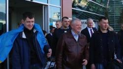 Украинские военные прибыли на лечение в Грузию