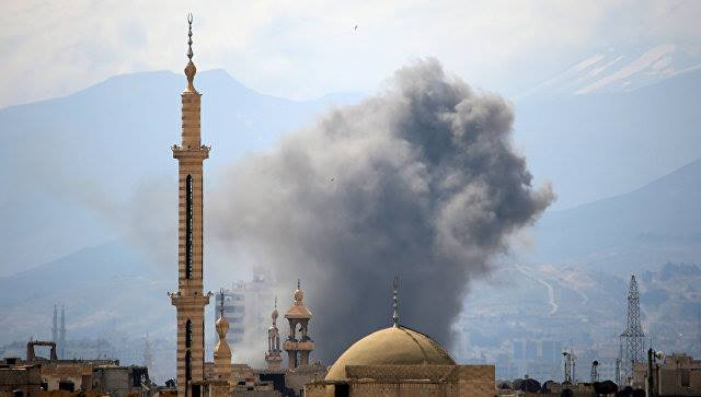 اسد اوردوسونا آغیر ضربه: سلاح آنباری محو ائدیلدی
