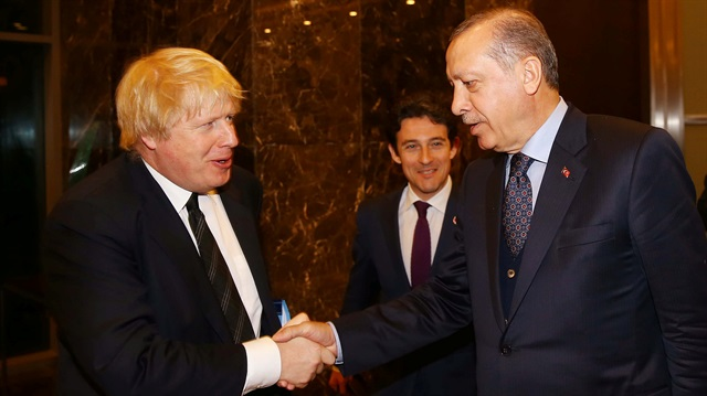 Erdogan and Johnson had a telephone conversation
