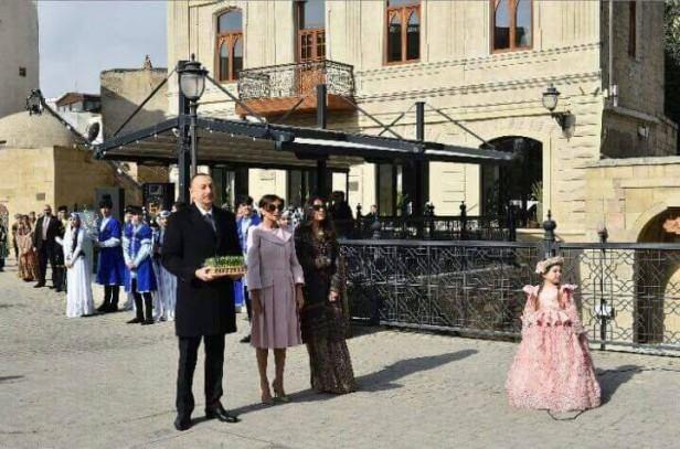 """6 yaşlı aktrisamız: """"Cənab prezidenti görəndə..."""" - Foto"""