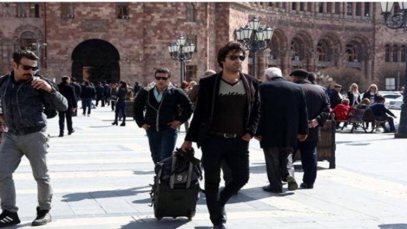 آذربایجانلیلارین ارمنیستاندا نووروز کفی - ویدئو