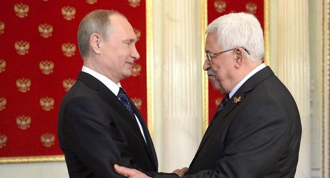 محمود عباس پوتینله گؤروشه گئدیر