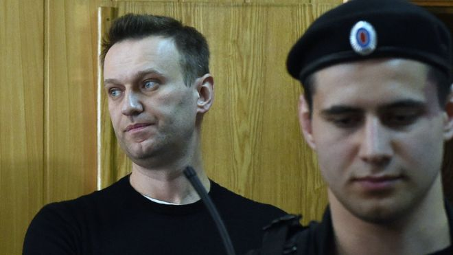 Russian blogger Navalny moved to a special colony