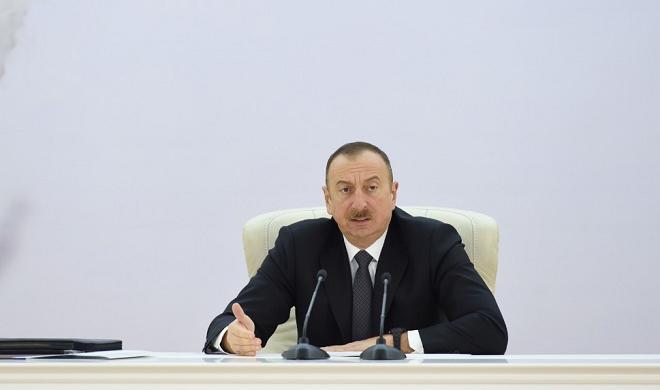 Orada demoqrafik böhran yaşanır - İlham Əliyev