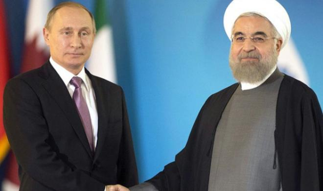 Rouhani met Putin in Moscow