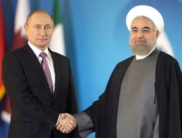 Роухани встретился с Путиным