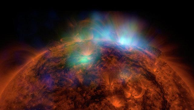 На Солнце произошла вспышка, будет магнитная буря