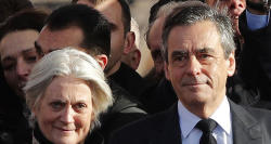 Fillon's wife charged over fake job scandal