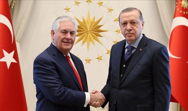 Эрдоган принял Тиллерсона - Хроника визита