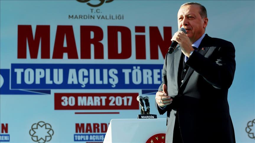 Отныне нет покоя любому террористу - Эрдоган