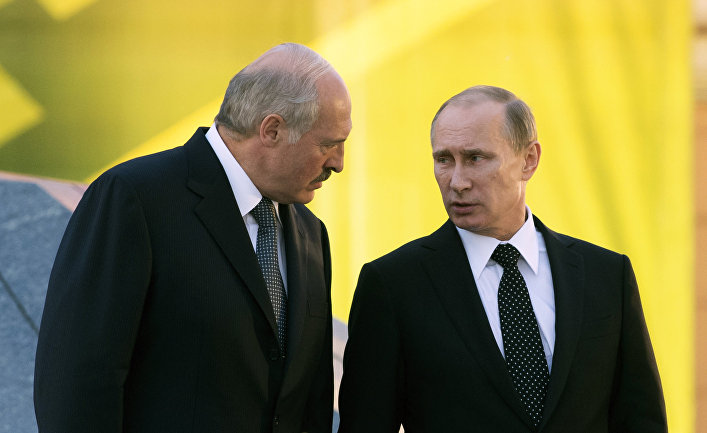 After meeting with Aliyev, Lukashenko called Putin