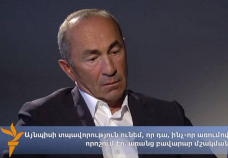 В офисе экс-президента Армении прошли обыски