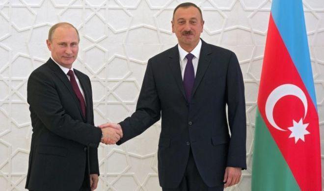 Ильхам Алиев сегодня встретится с Путиным
