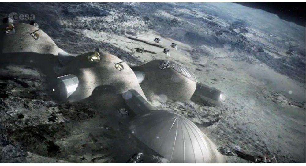 Украина захотела построить город на Луне