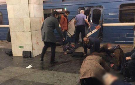 Moskva metrosunu partlatmaq istəyən şəxs yaxalandı