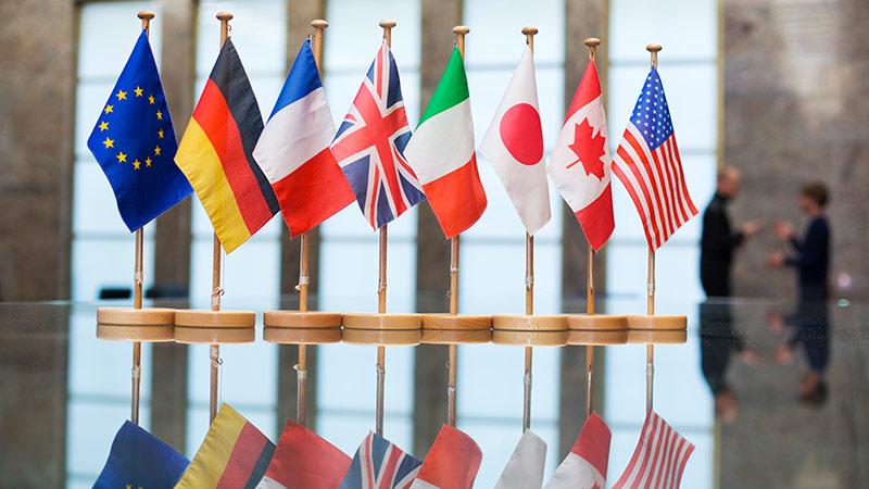 Fransada G7 dövlətlərinin sammiti başladı