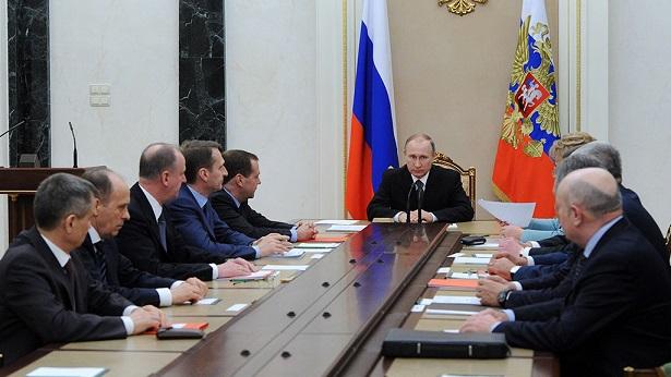 Путин созвал Совбез