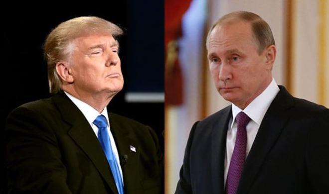 Трамп поговорил с Путиным