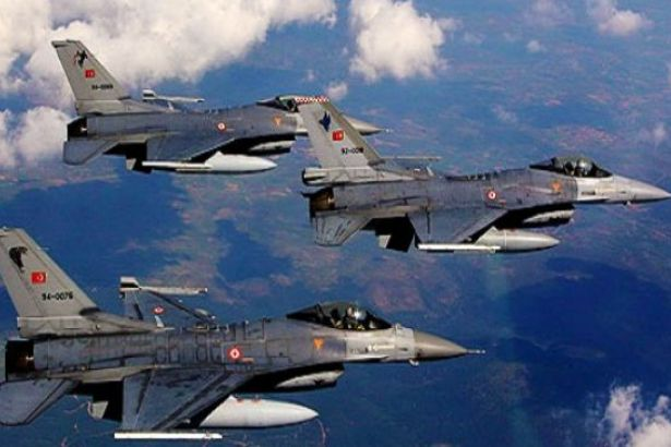 Türk aviasiyası bu düşərgələri darmadağın etdi
