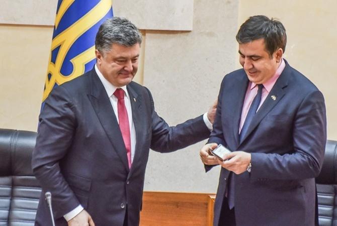 Saakaşvili: Poroşenko məni əsir götürməklə səhv etdi