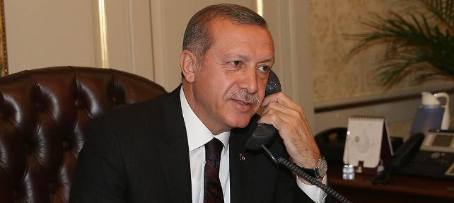 Erdogan spoke with the Uzbek leader