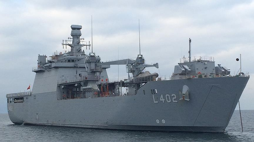 Rusiya Suriyaya desant gəmisini göndərdi