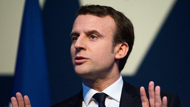 ماکرون: «لوپن فرانسانی اوچوروما آپاریر»