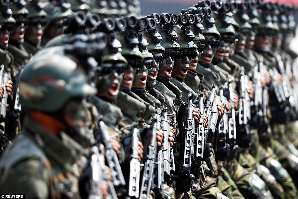 China deploys troops near India-Pak border