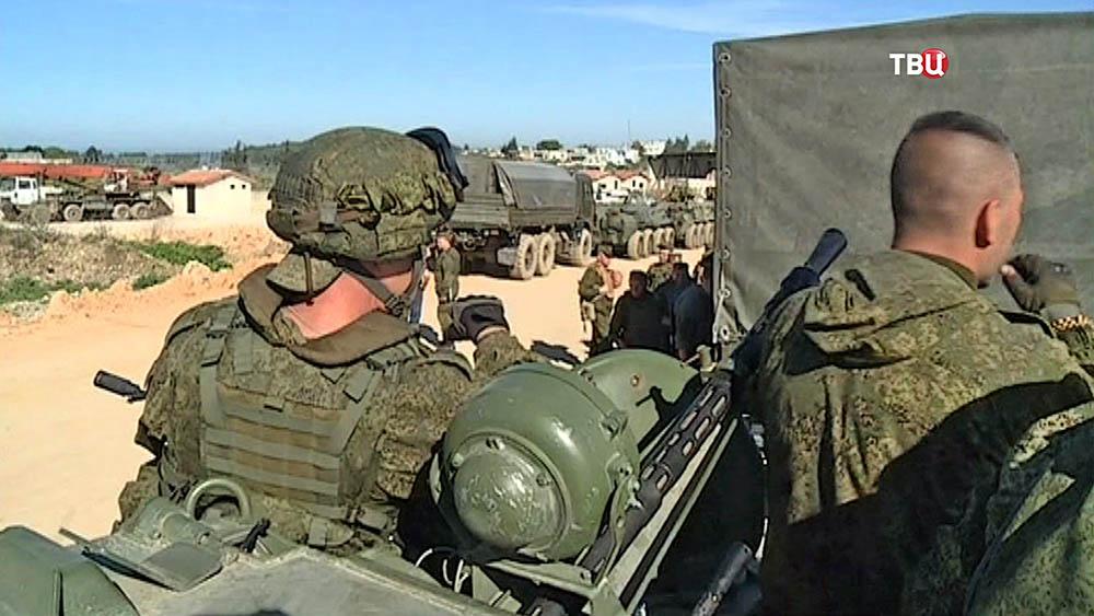 В Сирии погибли шесть российских военных