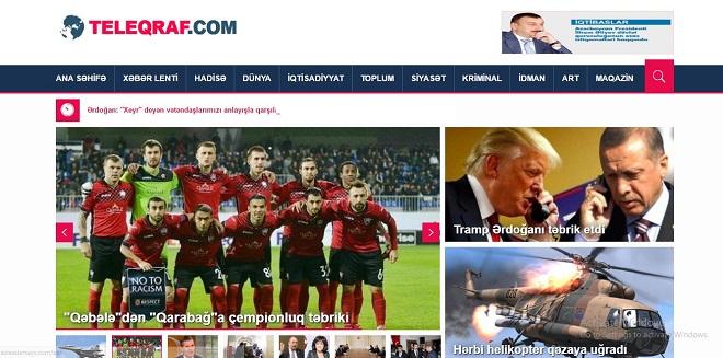 Teleqraf.com yeni dizaynda - Foto